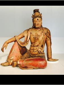 Guanyin , 12e eeuw  China, Shanxi Rijksmuseum Amsterdam